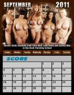Score 2011 Calendar
