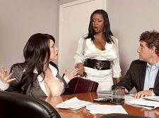 Boob Science: Larger than standard Tit Boss Lady